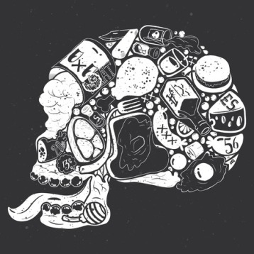 Food Skull