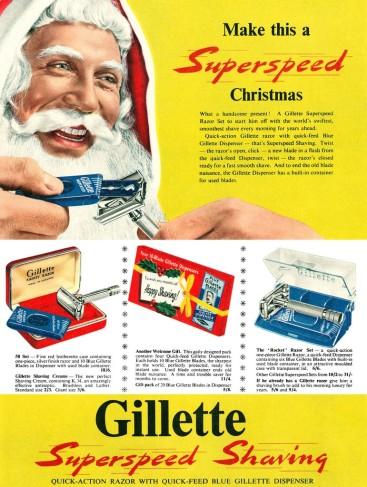 vintage razor ad